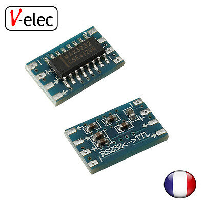 1239# mini RS232 MAX3232 Levels to TTL level converter board serial arduino