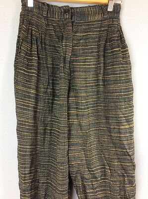 "Vintage Mens French Connection Viscose Trousers. W 30"" Leg 29"""