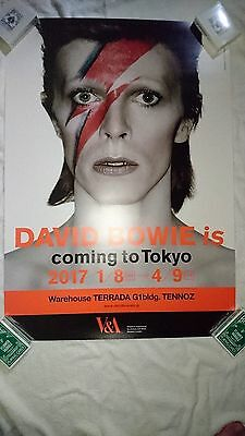 DAVID BOWIE is -  2017 Official Exhibition Poster