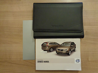 Volvo XC60 Owners Handbook/Manual and Wallet 08-12