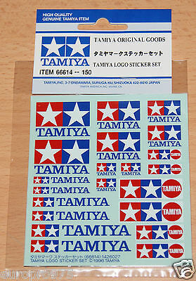 Tamiya 66614 Tamiya Logo Sticker Set, (Decals/Stickers)NIP