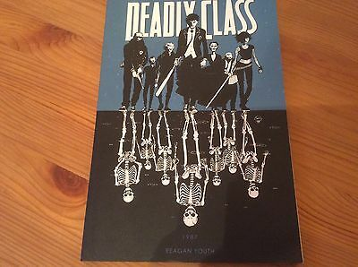 Deadly Class Volume 1 Reagan Youth Image Graphic Novel Rick Remender Wes Craig