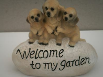 """NEW!"""" PUPPY Welcome."""". Latex rubber mould."""