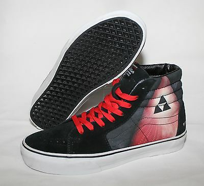 Vans X Black Diamond Skye Tour Alice In Chains Deftones SK8 Hi Only 150 Made 9