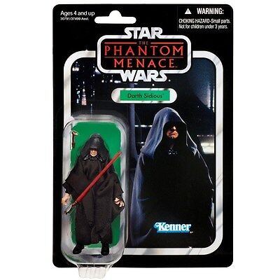 Star Wars The Vintage Collection Darth Sidious VC79 Hasbro
