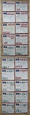 v766/ Gibraltar Lot/Collection of 20 stk Covers to Denmark 1959-1960