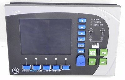 GE Multilin Automatic Transfer Graphical Control PanelSystem MX350 Mint