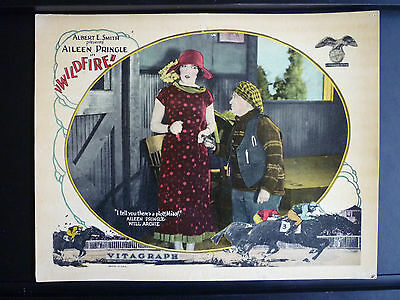 1925 Wildfire - Lobby Card - Horseracing Silent - Aileen Pringle - Vintage