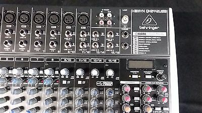 Behringer Xenyx QX2442USB Mixing Console, Floor demo. Perfect Condition!!