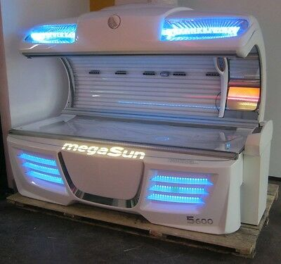 Megasun 5600 ULTRA POWER Sunbed 2013 year ! FREE DELIVERY AND INSTALATION