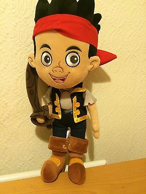 Disneystore Jake And The Never land Pirates Soft Toy