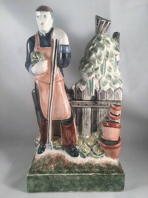 """Rye Pottery """"The Country Gardener"""" English Figures - Costs £200 New - Perfect"""
