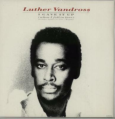 """I Gave It Up Luther Vandross UK 12"""" vinyl single record (Maxi) LUTHT6 EPIC"""