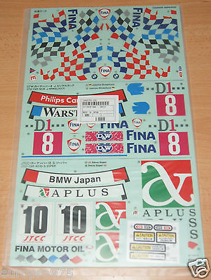 Tamiya 58171 BMW 318i STW/TA02/TT01E, 9495325/9495700/19495700 Decals/Stickers