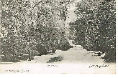 """RPPC Of """" Fairy Glen   """"    a Wrench series card  posted 1904"""