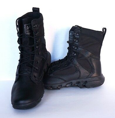 New  Under Armour Alegent Tactical Army Police Boots 1236876-001 Size 10