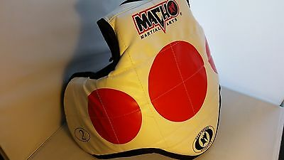 Martial Arts Body Protector (TAIEKWANDO TYPE) Hard front and side protection/MED