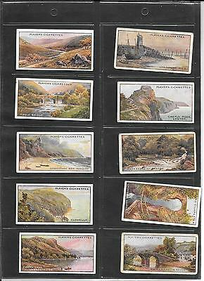 Player's - Gems Of British Scenery - 1915 - Full Set In Sleeves
