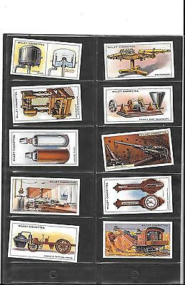Will's - Famous Inventions - 1915 - Full Set Of Reproduction Cards