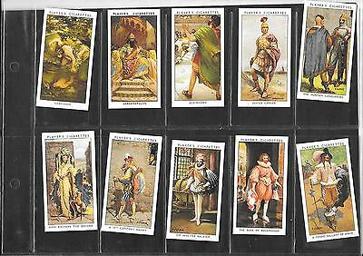 Player's - Dandies - 1932 - Full Set Of Reproduction Cards