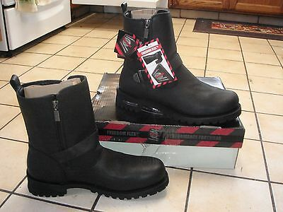 Milwaukee Afterburner Mens Motorcycle Boots 15D NWT NWB