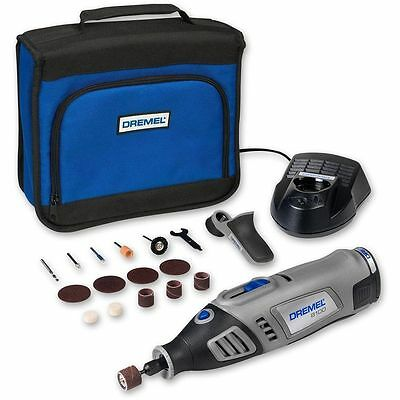 Dremel 8100-1/15 7.2V Lithium-Ion Cordless Rotary Multitool Kit + 15 Accessories