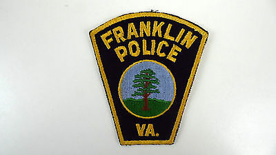 Franklin, Vancouver, Canada, Police Dept Patch