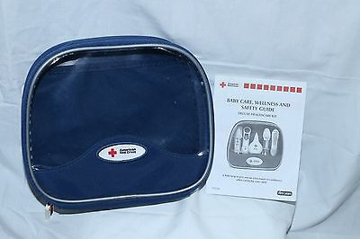American Red Cross small empty kit bag pediatric care color blue FREE SHIPPING