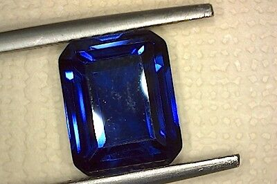 SAPPHIRE CORUNDUM SYNTHETICALLY GROWN [NOT SIMULANT]  4.70Ct  MF8359