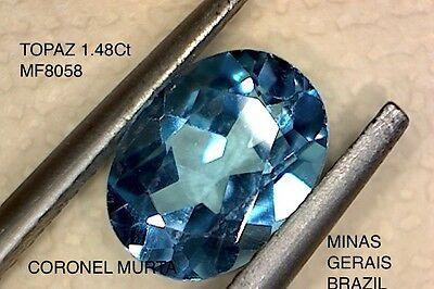 TOPAZ NATURAL MINED 1.48Ct  MF8058
