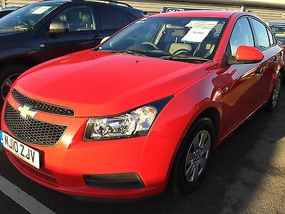 2010 Chevrolet Cruze S Lpg Gas Conversion, Spares Or Repair, Oil In Water Drives