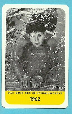 Dawn Fraser Olympics Swimming Australia Cool Collector Card Europe Look!