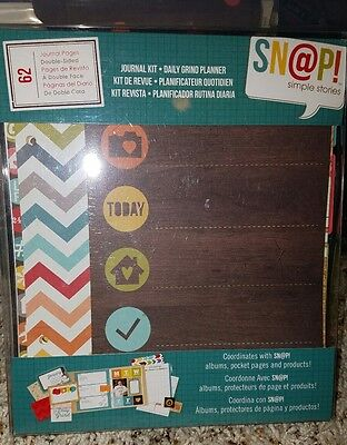 Sn@p Simple Stories daily grind planner/journal kit