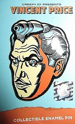 Creepy Company Vincent Price Enamel Pin Houdini Playbill Variant LE Sold Out