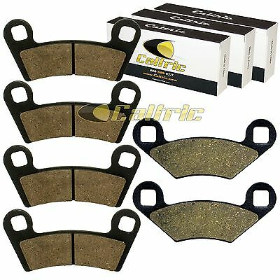 FRONT and REAR BRAKE PADS FIT POLARIS OUTLAW S 450 2008-2010
