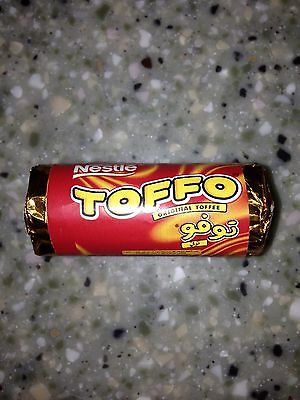 Toffo by Nestle Toffee Sweets Nostalgic Sweets 10 Packs of 4 Sweets BB4 Sep 2017