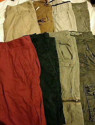 "Job lot x8 pairs Mens Trousers size 30""-32"""