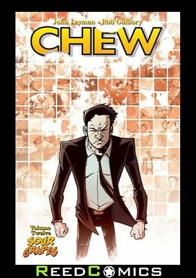CHEW VOLUME 12 SOUR GRAPES GRAPHIC NOVEL New Paperback Collect #56-60 + One Shot