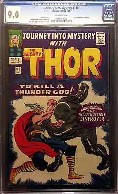Journey into Mystery (1962) #118 CGC 9.0 1st app Destroyer Thor (0095054002)