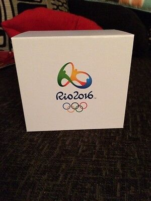 Official Rio 2016 Olympic Coin Box Only...