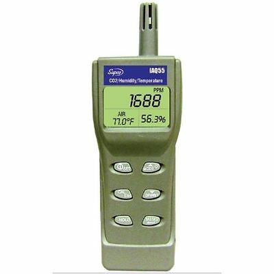 IAQ55 Supco Indoor Air Quality Meter with Dew Point and Wet Bulb Handheld