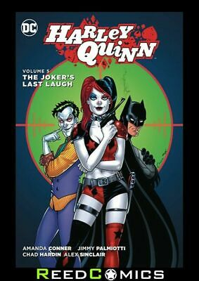 HARLEY QUINN VOLUME 5 THE JOKERS LAST LAUGH GRAPHIC NOVEL Collects (2013) #22-25
