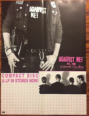 Against Me As The Eternal Cowboy Poster 18x24