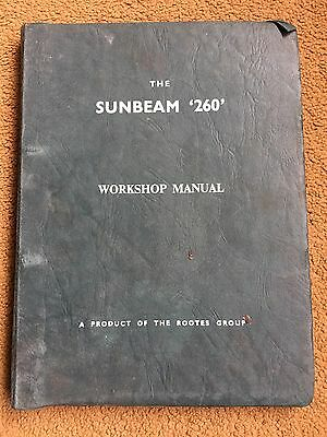 SUNBEAM TIGER MK1 V8 260 cu.in. 2-SEATER 1964 - ORIGINAL FACTORY WORKSHOP MANUAL