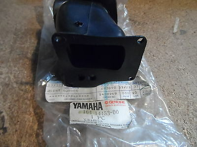 Genuine Yamaha Yl2 Yg5T Yg5S Carb To Air Box Rubber  164-14453-00  Nos