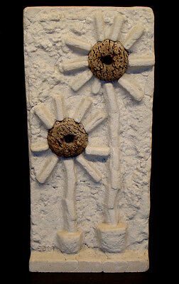 Vintage ABSTRACT Wall Art Plaque MID-CENTURY Danish MODERN Sculpture EAMES