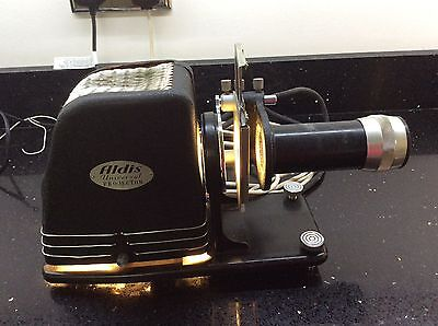 Vintage projector Aldis universal projector old rare with case etc