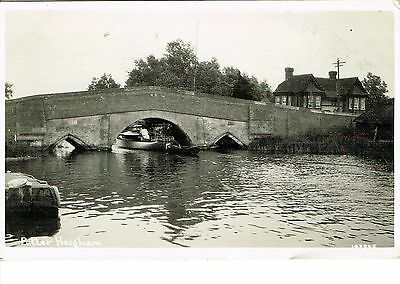 """RPPC Of """" Potter Heigham """" posted 1934"""