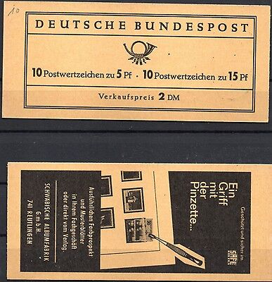 GERMANY- STAMP BOOKLET- Famous Germans + Architecture - SB59 - MINT *UNOPENED*