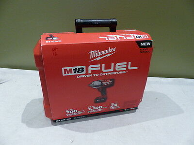 """Milwaukee M18 Fuel 1/2"""" High Torque Impact Wrench +Friction Ring Kit 18V 2763-22"""